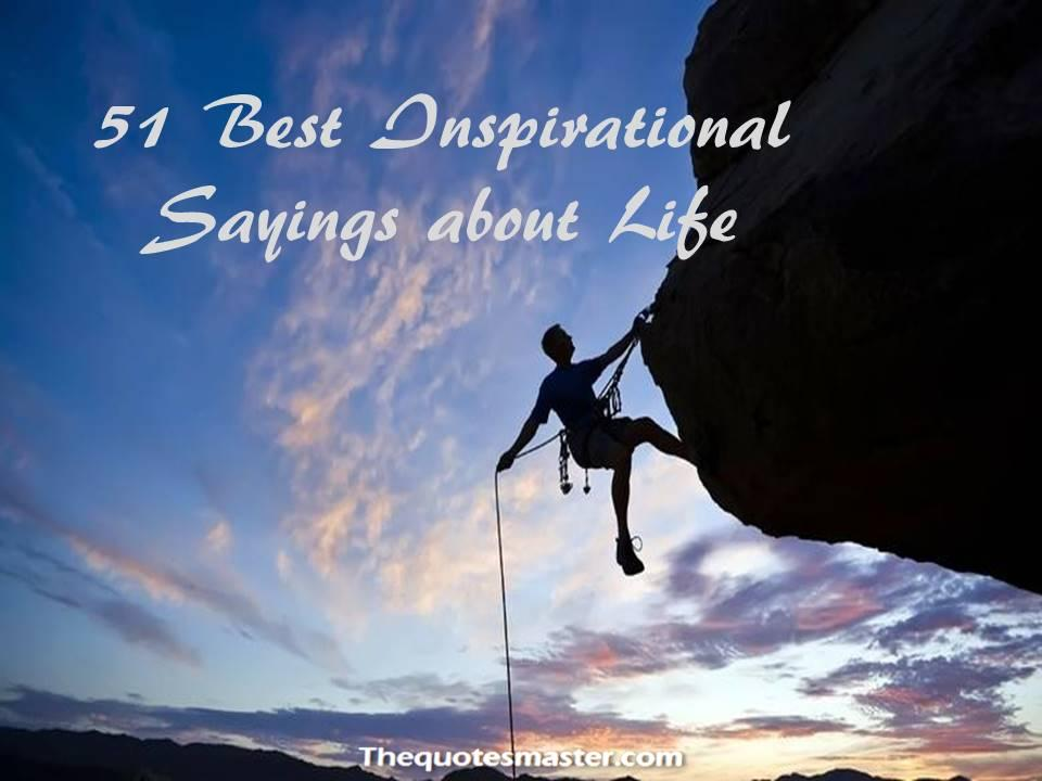 Best Inspirational Sayings About Life