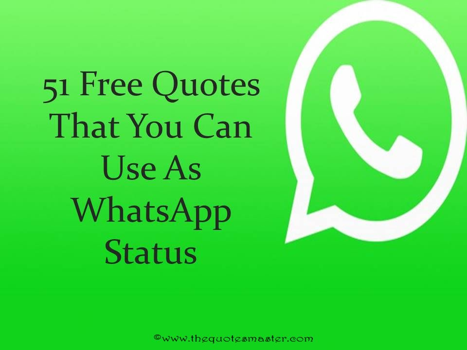 51 Free Quotes For WhatsApp Status