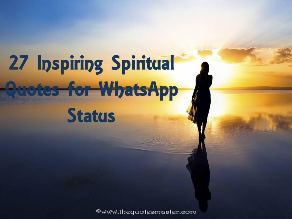 Spiritual Quotes On Love Prepossessing 27 Inspiring Spiritual Quotes For Whatsapp Status