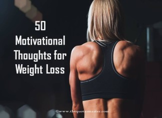 50 motivational thoughts for weight loss