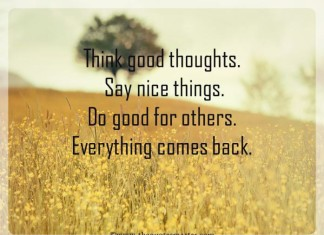Have Good Thoughts Quotes