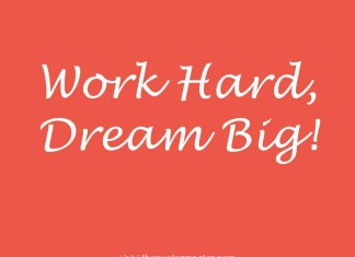 Motivational Picture quote about hard work