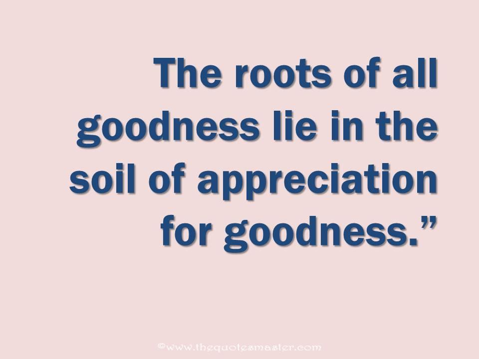 Quote About Goodness