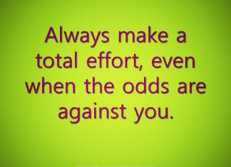 Work with total effort quote
