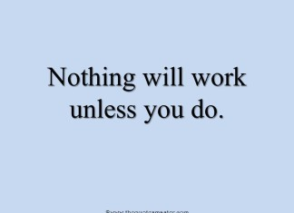 Quote about work
