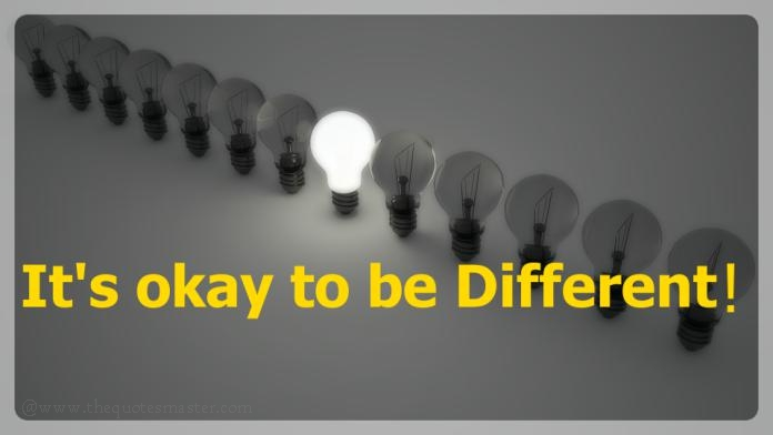 Being different in life picture quotes