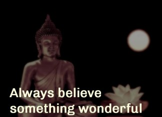 Believe wonderful things will happen picture quotes