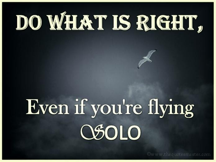 Do what is right quotes