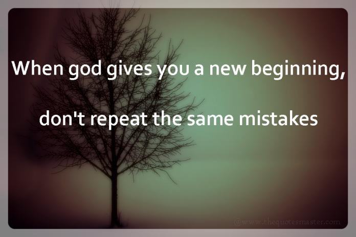 Dont repeat mistakes picture quotes