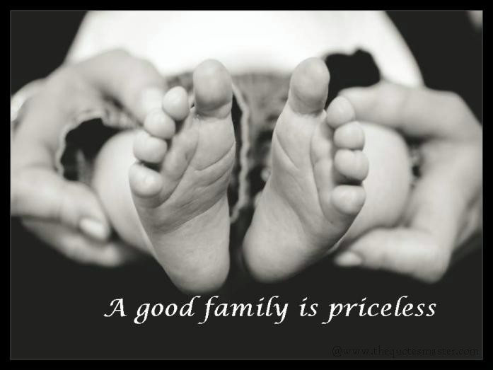 Good family quote with picture