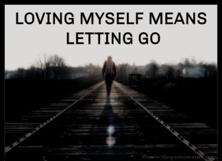 Letting Go Picture Quotes