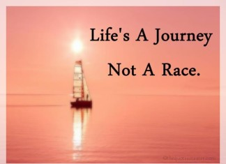 Life is a journey pictue quotes