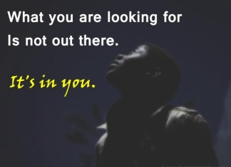 Look in you picture quotes