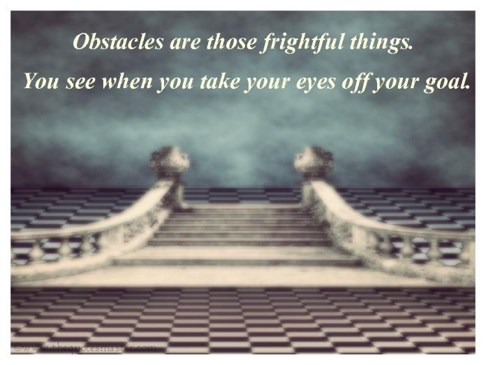 Obstacles picture quotes