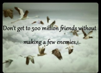Picture quotes about enemies