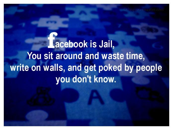 Picture quotes about facebook