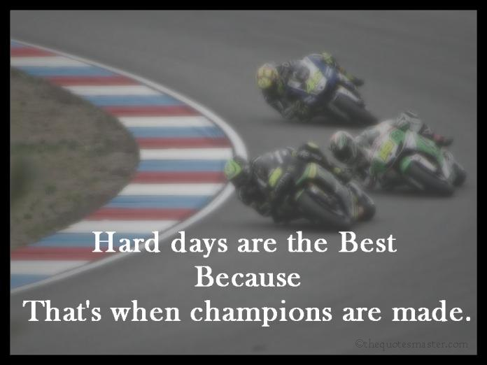 Picture Quotes About Hard Days