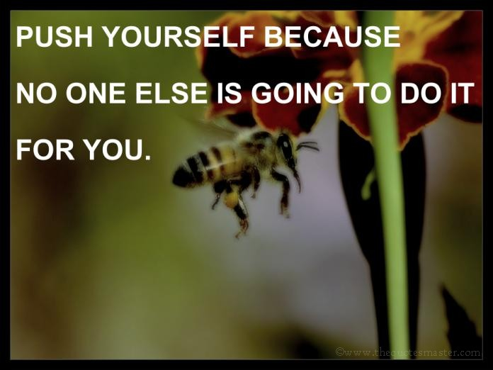 Push Yourself Picture Quotes