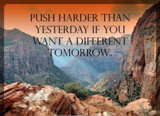Push harder quotes