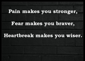 Stronger Braver Wiser Picture Quotes
