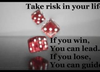 take risk in life picture quotes