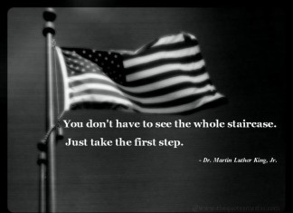 Take the first step picture quotes