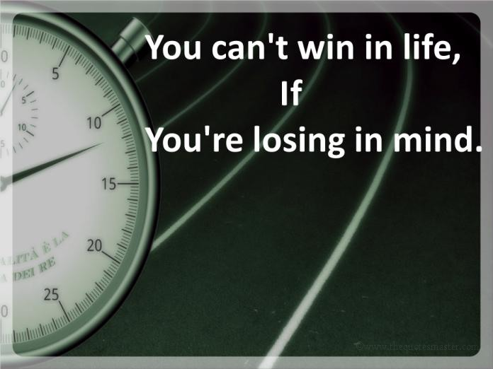 Winning life picture quotes