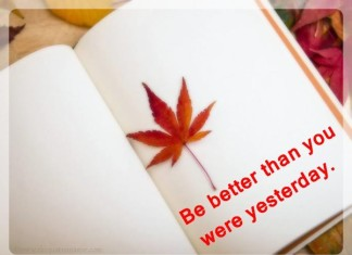 Be better than yesterday picture quotes
