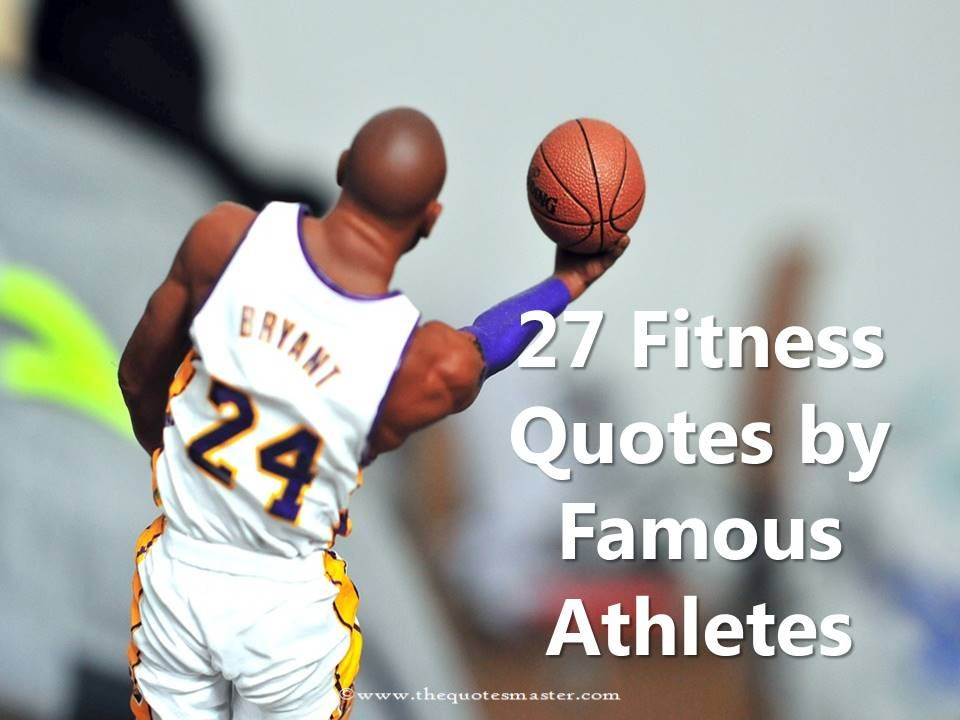 40 Fitness Quotes By Famous Athletes Simple Famous Athlete Quotes