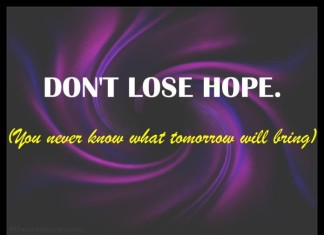 Dont lose hope quotes