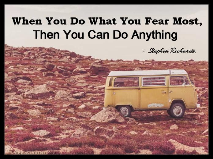 Fear Quotes with Images