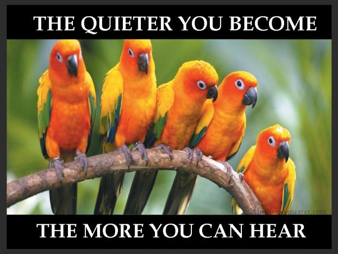 Keep Quiet Quotes with Pictures
