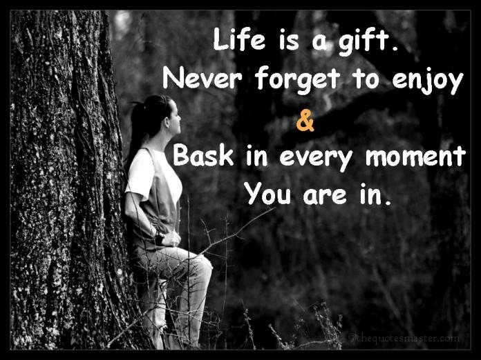 Life is gift picture quotes
