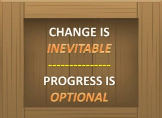 Make a change Quotes