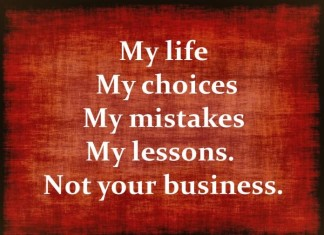 My Life Picture Quotes