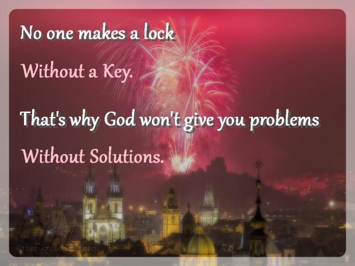 Picture Quotes about problems and solutions