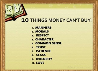 Quotes about money can't buy