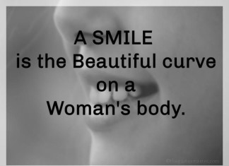 Smile is a beautiful curve