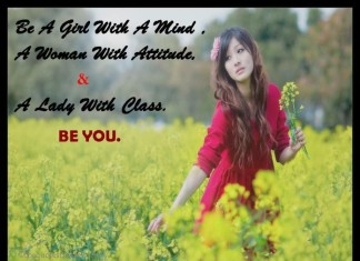 A Girl with mind Quotes