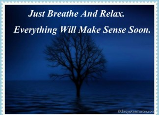 Breath and relax quotes