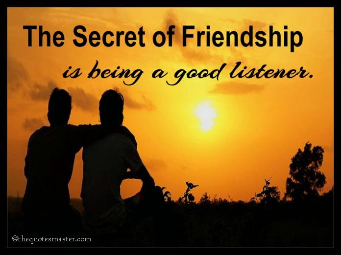 The Secret Of Friendship