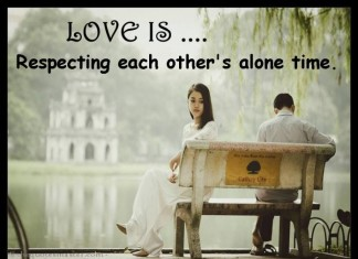 Love is respecting each other quotes