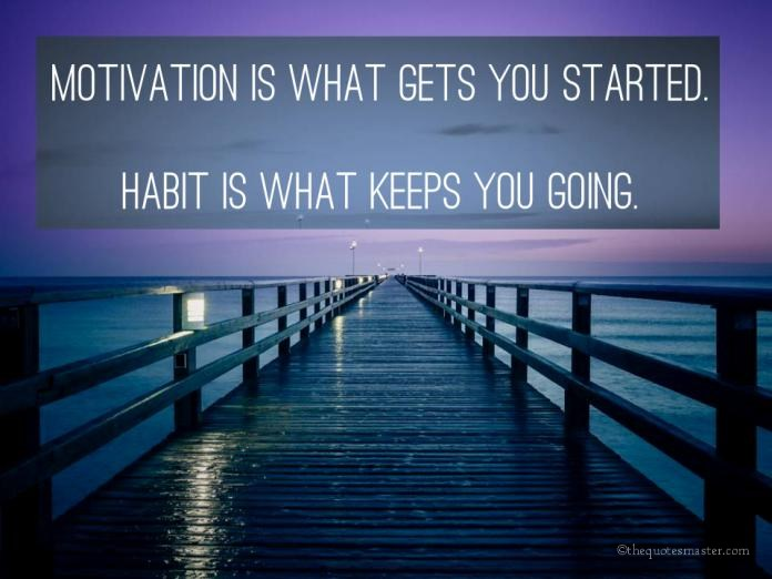Motivation and Habit Quotes