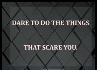 Dare to do quotes