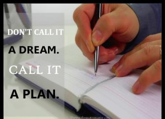 Dream and Plan Quotes