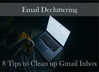 Email Decluttering: 8 Tips to Clean up Gmail Inbox