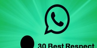 30 Best Respect Status for Whatsapp