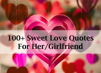 100+ Sweet Love Quotes For Her/Girlfriend