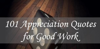101 Appreciation Quotes for Good Work