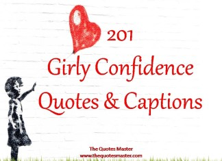 201 Girly Confidence Quotes & Captions